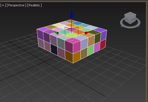 图10:彩色砖块