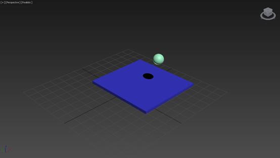 3dmax绘制动态物体和静态物体