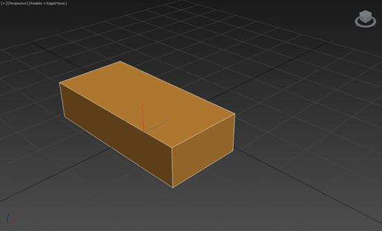 绘制一个长方体3D模型