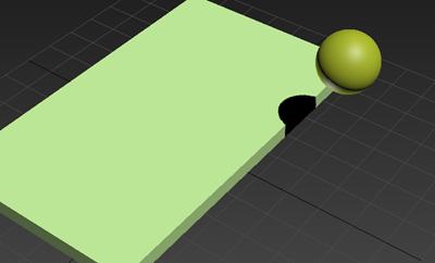 长方体与球体模型