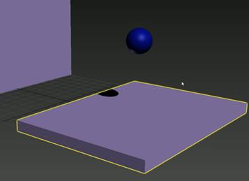 球发生碰撞模拟