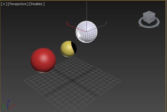 图2:创建球体