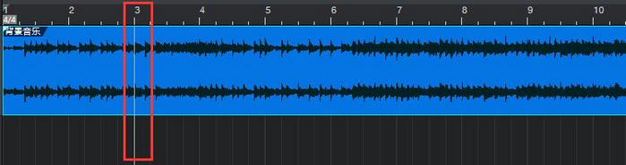 图1:从第3小节开始播放音频