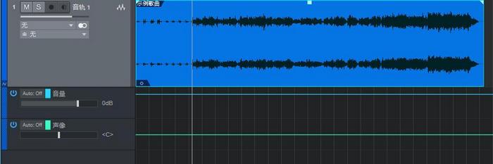 图5:音量和声像自动控制轨道
