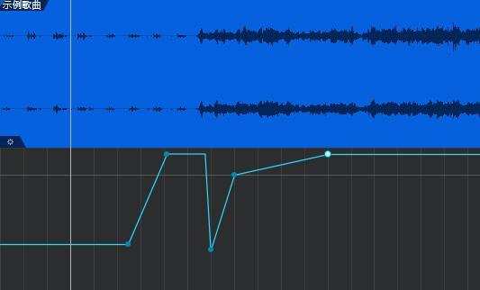 图8:分段调整音量大小