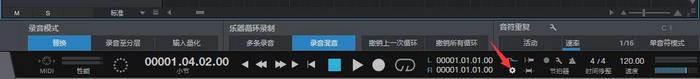 录音面板按钮