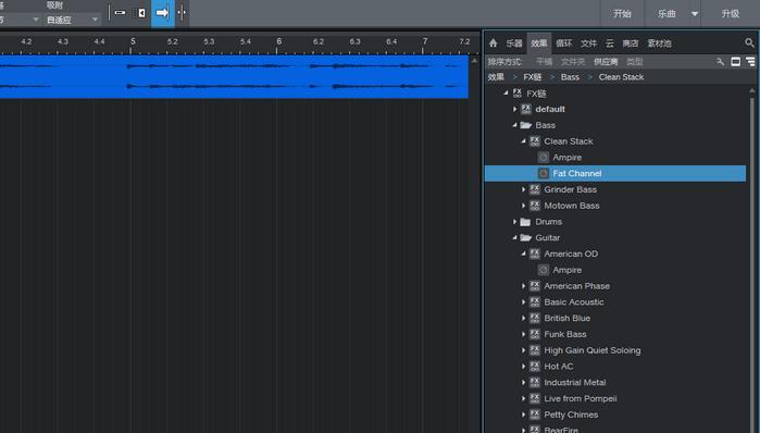 图1:音频效果器页面