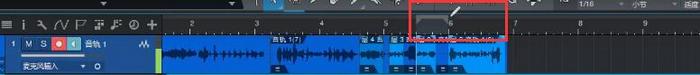 鼠标拖选音频段落