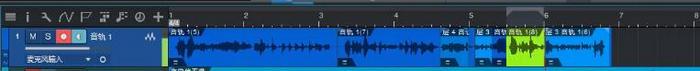 重新录制部分音频