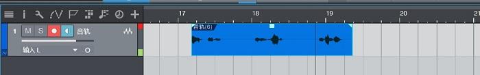 录制音频过程