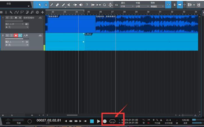 图5:循环录音