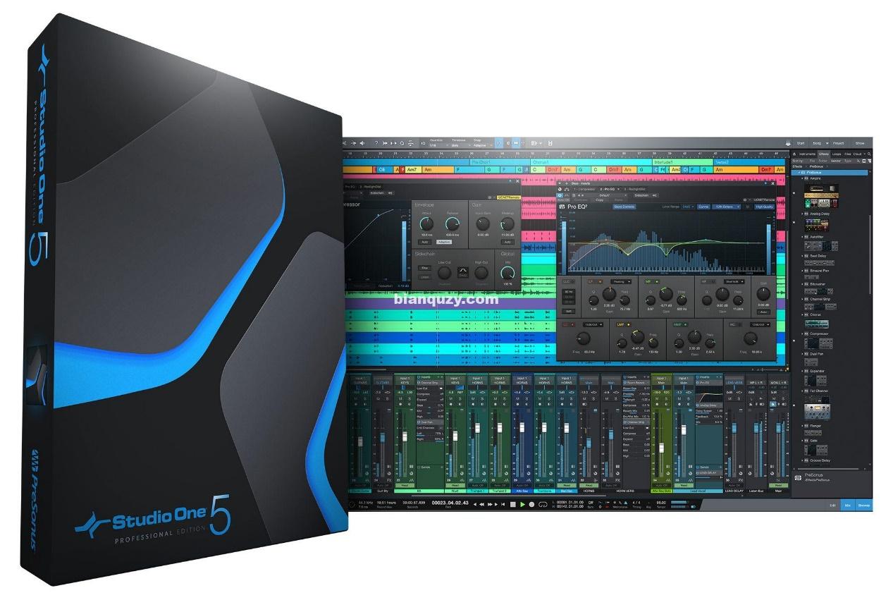 studio one产品界面