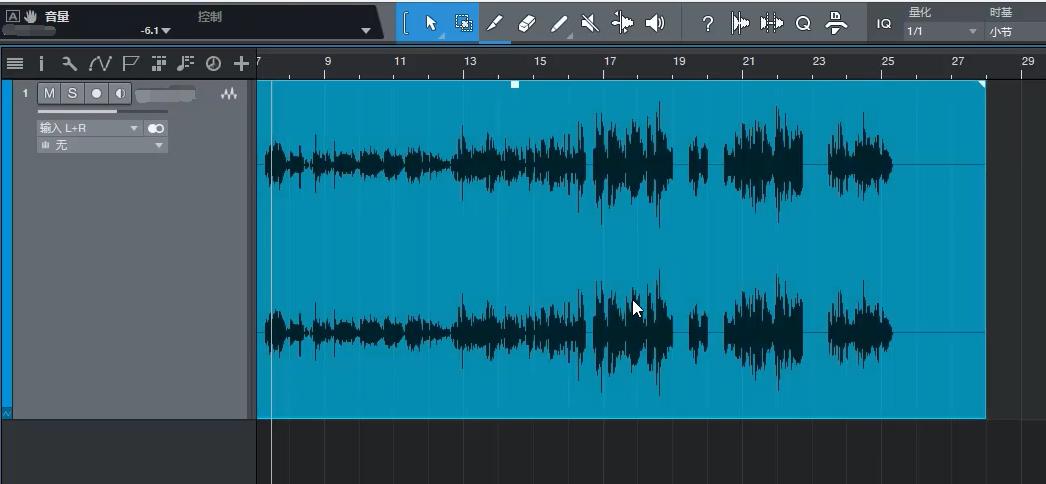Studio One音频块