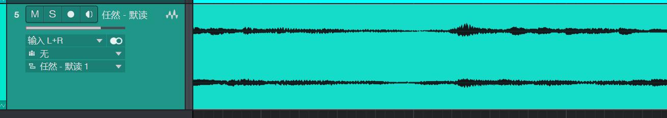 立体声波形图