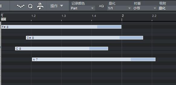 图10:全选MIDI音符