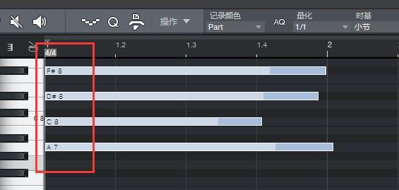 图11:MIDI音符音头量化对齐