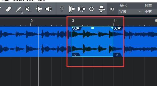 图5:分割出的第3-4小节音频