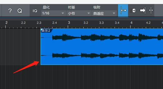 图3:移动后的音频