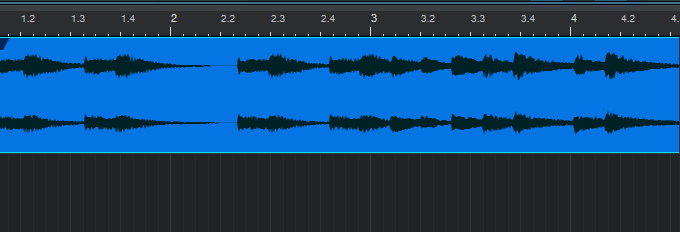 图3:Studio One中的音频