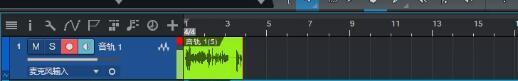 重新录制的音频部分
