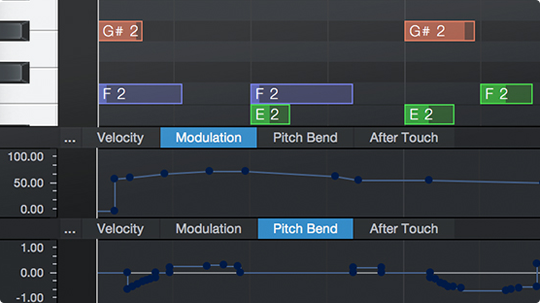MIDI支持