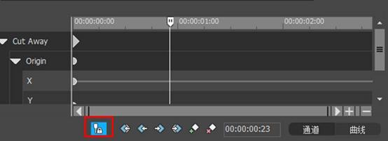 同步关键帧与预览窗口的时间线