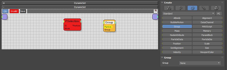 图6:创建Group节点