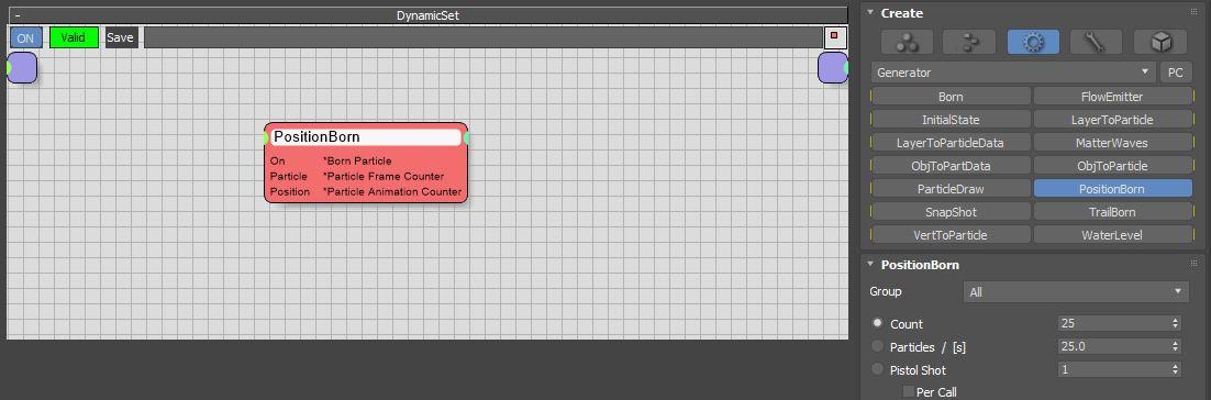 图3:创建PositionBorn节点