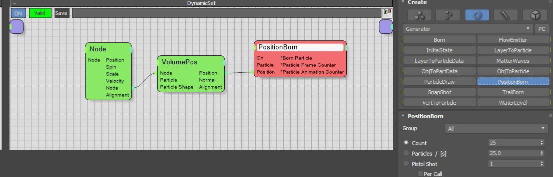 图9:创建PositionBorn节点