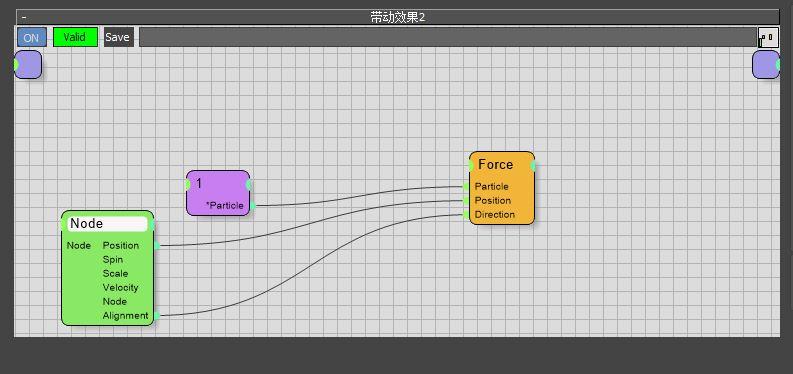 图8:连接Node与Force节点