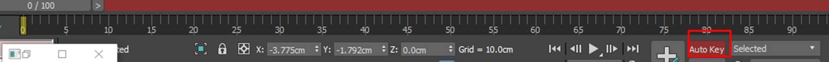 图13:开启关键帧功能