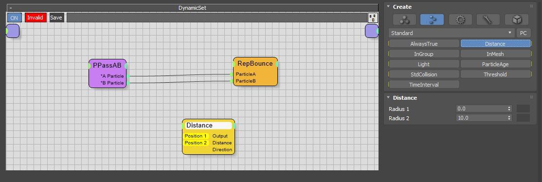图8:创建Distance节点