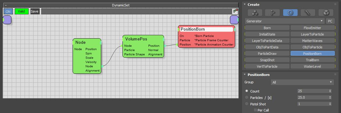 图7:创建PositionBorn节点
