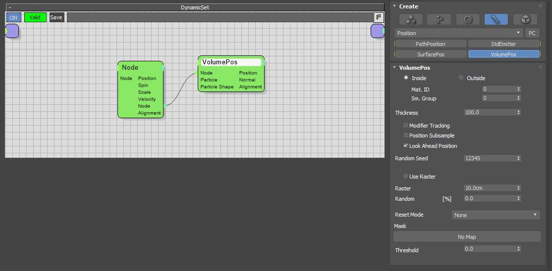 图6:创建VolumePos节点