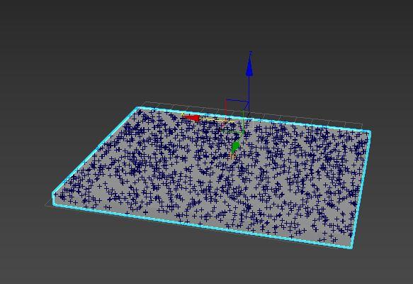 图10:粒子出生效果