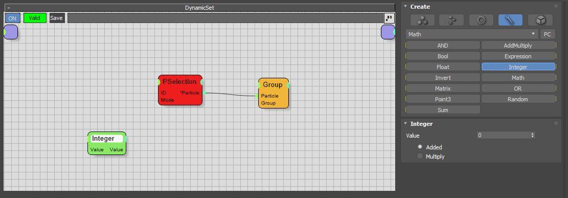 图11:创建Integer节点