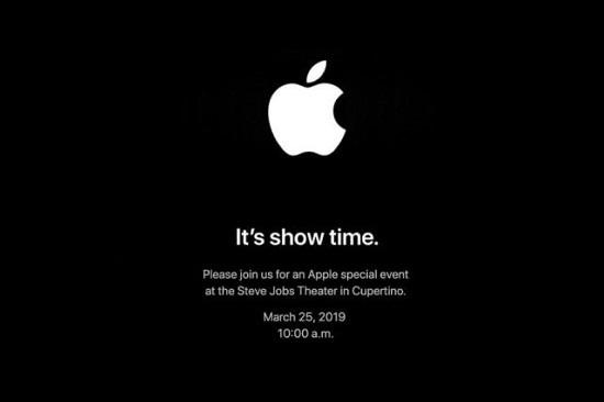 苹果官宣:3月25日举行特别发布会
