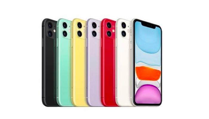 iPhone11手机配色