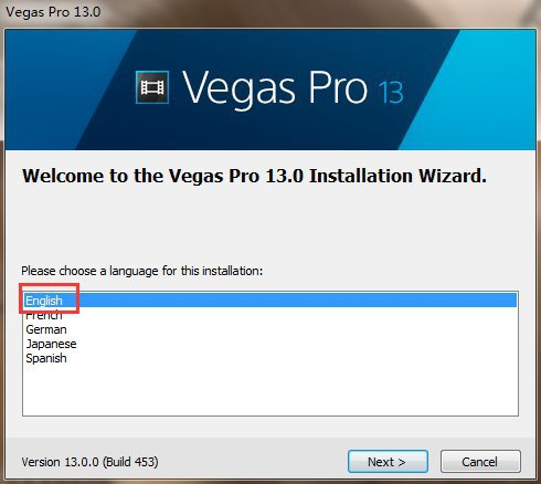 安装正版vegas软件