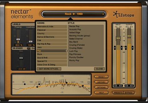 给你介绍一款好用的声音插件—Izotope nectar-elements