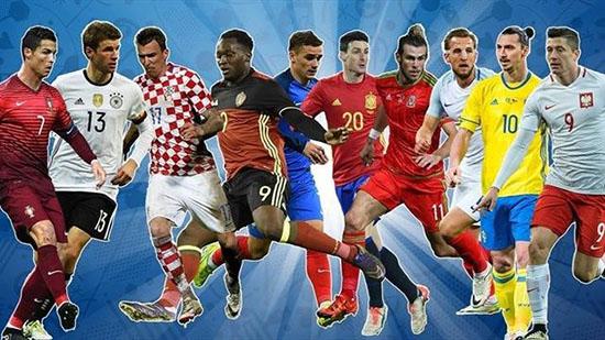 2016法国欧洲杯进球集锦