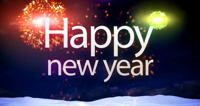 VEGAS新年祝福视频模板