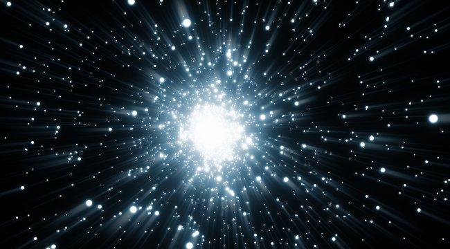 发光粒子素材