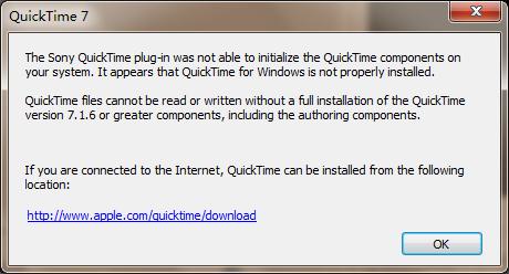 quicktime問題