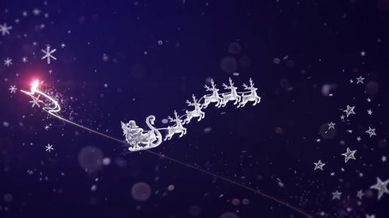 Vegas圣诞节视频素材