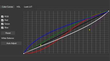改进的颜色曲线