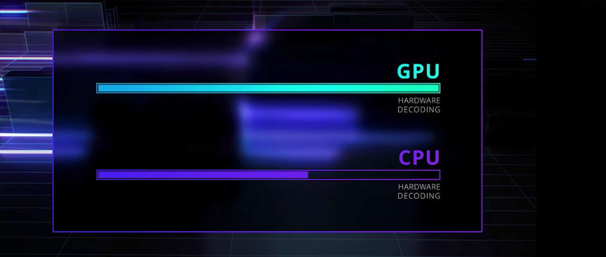 用于AVC和HEVC的GPU加速解碼