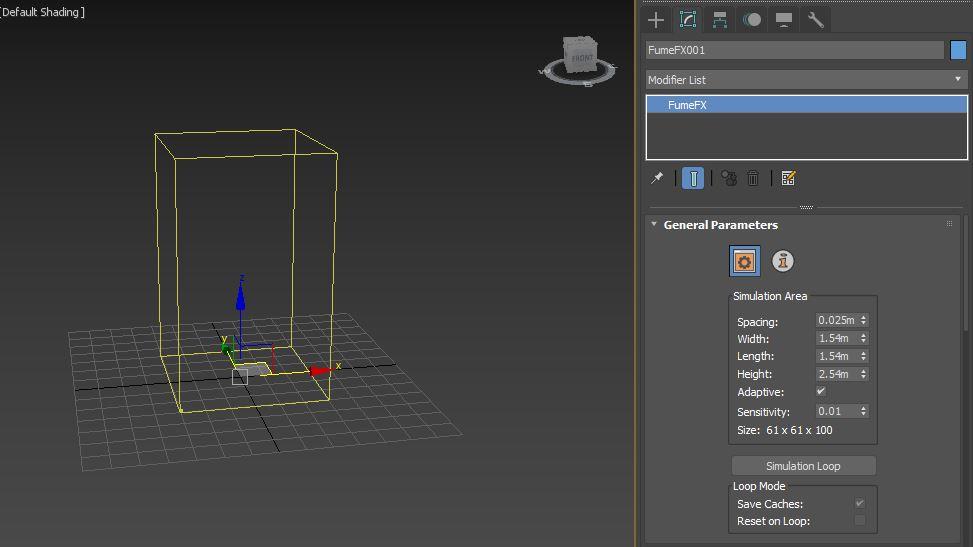 图2:创建模拟区