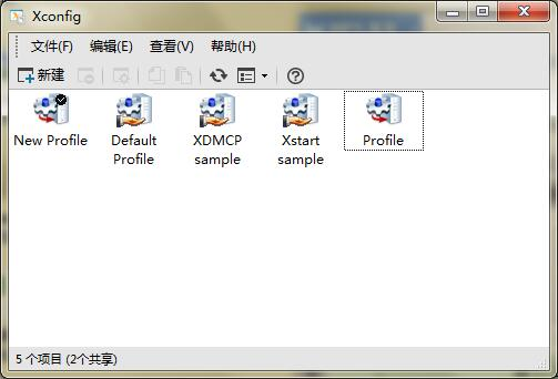 xconfig窗口界面
