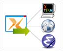 分享X应用程序